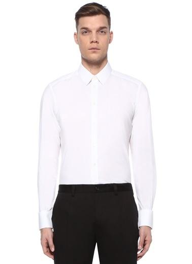 Dolce&Gabbana Dolce&Gabbana   Modern Yaka Gömlek 101478925 Beyaz